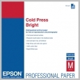 Epson COLD PRESS BRIGHT 21MIL 8.5 X 11IN 25 SHEETS