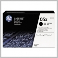 HP 05X 2-PACK HIGH YIELD BLACK LASERJET TONER CARTRIDGE