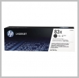 HP 83X GENUINE LASERJET TONER CARTRIDGE - 2,200 PAGE YIELD