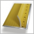 Speedpress ULTIMATE STEEL SAFETY RULER 28IN