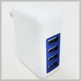 Professional Cable 4 PORT USB WALL CHARGER 3.1A