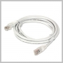 ETHERNET CAT6 PATCH CABLE WHITE 3 FOOT