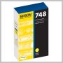 Epson 748 STANDARD INK CARTRIDGE FOR WF-6090 ETC. YELLOW