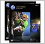 HP INKJET ADVANCED GLOSSY PHOTO PAPER 10.5 MIL 8.5X11 2 X 50 SHTS