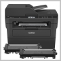 Brother MONOCHROME LASER P/ S/ C/ F WL USB W/ 2 YEARS OF TONER