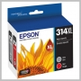 Epson CLARA XL CAPACITY MULTIPACK GRAY AND RED INK