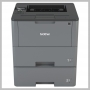 Brother MONOCHROME LASER PRINTER DUPLEX DUAL TRAY WIRELESS