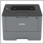 Brother MONOCHROME LASER PRINTER DUPL 1200DPI LTR USB LAN WL