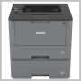 Brother MONOCHROME LASER DUPL 2-TRAYS 1200DPI LTR USB PAR LAN WL