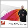 EFI FIERY XF V7 SERVER W/ SPOT COLOR, COLOR VERIFIER, 1 PRINTER