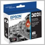 Epson T302XL PHOTO BLACK INK W/SENSOR