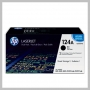 HP 124A TONER GENUINE 2.5K 2PK BLACK CLJ 1600 2600 CM1015