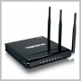 TRENDNET WIRELESS ROUTER N DRAFT WITH 4 PORT GIGABIT SWITCH