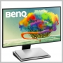 Benq 27IN DISPLAY 2560X1440 IPS 100% SRGB DP MDP HDMI USB-C USB HUB