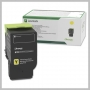 Lexmark YELLOW TONER CARTRIDGE STANDARD YIELD
