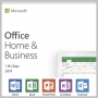Microsoft OFFICE HOME AND BUSINESS 2019 ENGLISH MEDIALESS