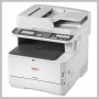 Okidata MC363DN COLOR MFP P/ S/ C/ F 27/31PPM 120V USB ENET