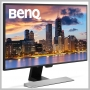 Benq 27IN LED 2560X1440 100% SRGB BLACK/SILVER HDMI1.4X2 DP1.2X1