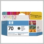 HP VIVERA 70 130ML DJ Z2100 Z3100 INK MATTE BLACK