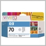 HP VIVERA 70 130ML DJ Z2100 Z3100 INK LIGHT GRAY