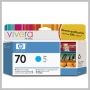 HP VIVERA 70 130ML DJ Z2100 Z3100 INK CYAN