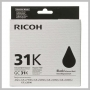 Ricoh BLACK PRINT CARTRIDGE GC 31K STANDARD YIELD
