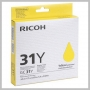 Ricoh YELLOW PRINT CARTRIDGE GC 31Y STANDARD YIELD