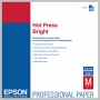 Epson HOT PRESS BRIGHT 17MIL 8.5 X 11IN 25 SHEETS