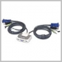 IOGear KVM USB SWITCH 2PORT COMPACT W/ CABLES