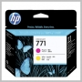 HP NO 771 MAGENTA & YELLOW DESIGNJET PRINTHEAD