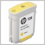 HP NO 728 40ML YELLOW DESIGNJET CARTRIDGE