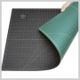 Alvin CUTTING MAT GREEN/ BLACK 12 X 18IN.