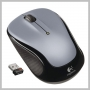Logitech WIRELESS MOUSE M325 - LIGHT SILVER