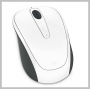 Microsoft WIRELESS MOBILE MOUSE 3500 WHITE GLOSS MAC WIN