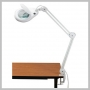 Alvin TRIM DESIGN MAGNIFIER LAMP WHITE