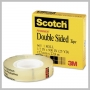 3M SCOTCH DOUBLE-SIDED CLEAR TAPE 1/2IN X 900IN - 1IN CORE