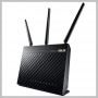 Asus WIRELESS 2.40 GHz ISM - 5 GHz UNII AC1900 GIGABIT ROUTER