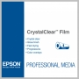 Epson CRYSTALCLEAR FILM 44IN X 100FT ROLL