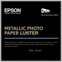 Epson METALLIC PHOTO PAPER LUSTER 10.5MIL 36IN X 100FT ROLL