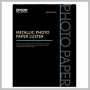 Epson METALLIC PHOTO PAPER LUSTER 10.5MIL 8.5X11IN 25 SHEETS