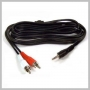 AUDIO 2 RCA M TO 3.5MM STEREO M - 6 FOOT