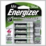 Energizer AA NIMH 2500MA RECHRGBLE BATTERY - 4 PK
