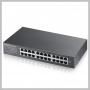ZyXEL 24PORT DESKTOP 10/100/1000 GIGABIT UNMANAGED SWITCH