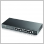 ZyXEL 8PORT WEB MNG GIGABIT ETHERNET FANLESS L2 SWITCH