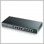 ZyXEL 8PORT FANLESS WEB MNG GBE POE+ L2 SWITCH