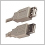 CABLE USB EXTENSION AM -AF - 6 FOOT