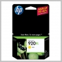 HP 920XL OFFICEJET HI-CAP INK CARTRIDGE YELLOW