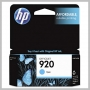 HP 920 CYAN OFFICEJET INK CARTRIDGE