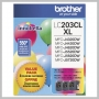 Brother 3 PACK COLOR INK CARTRIDGES FOR MFC-J4320DW, ETC.